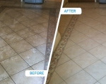 Kitchen Tile Cleaning Adelaide Before & After